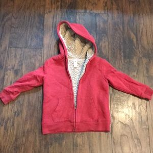 Other - Size L Thick Fleeced Lined Zip Up Hoodie